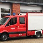 Das neue Tragkraftspritzenfahrzeug der Feuerwehrtechnischen Zentrale.